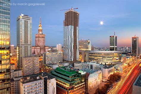 srodmiescie nord quartier moderne de varsovie centre
