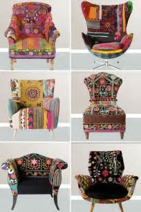 Funky Upholstery Fabric Decoraci 243 N Estilo Boho Chic 1001 Consejos