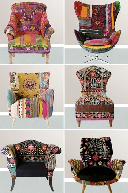Funky Armchairs Design Ideas Decoraci 243 N Estilo Boho Chic 1001 Consejos