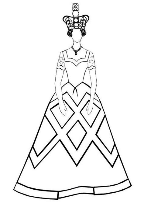 queen coloring pix coloring pages