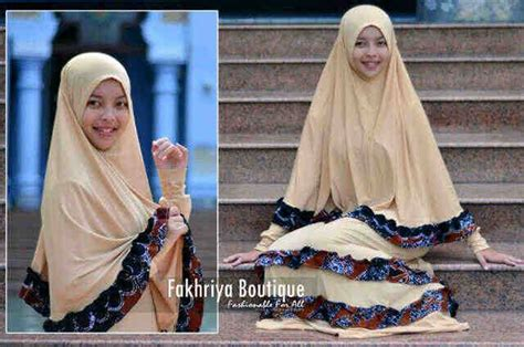 Syari Zahwa zahwa by fakhriya coksu baju muslim gamis modern