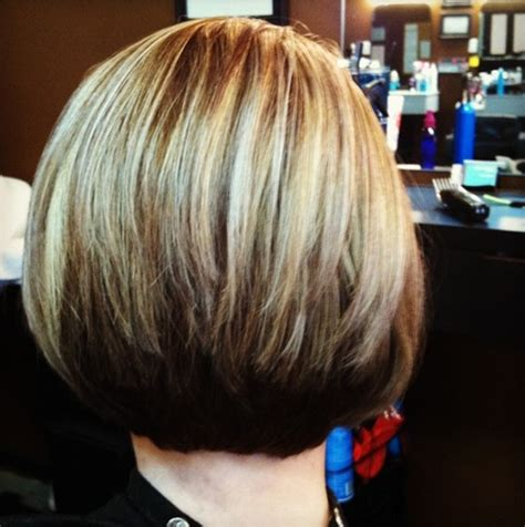 layered stack bob layered stacked bob haircut popular haircuts