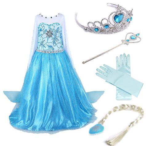 Dress Frozen dresses elsa frozen costume dress princess dresses ebay