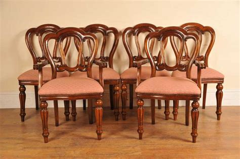 victorian dining chairs admiralty mahogany