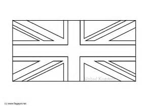 United Kingdom Flag Coloring Page united kingdom flag free coloring pages