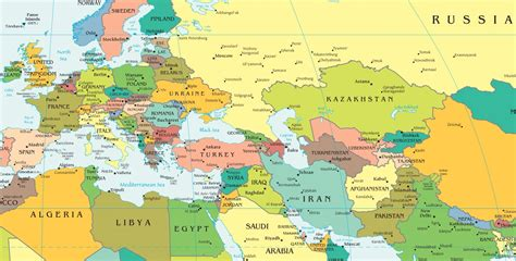 map of europe map map of europe and russia together all world maps