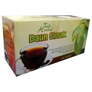 Herbal Daun Sirsak teh herbal daun sirsak herbal alami thibbun nabawi