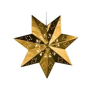 weihnachtsstern beleuchtung weihnachtsstern in gold mit beleuchtung aus alu e14