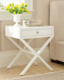 Hudson side table traditional nightstands and bedside tables