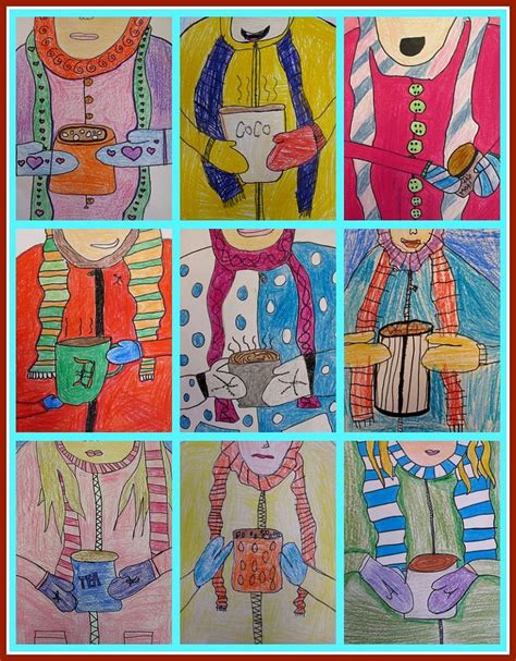 fifth grade winter art projects winter projects for third graders 1000 images about 3rd grade projects on