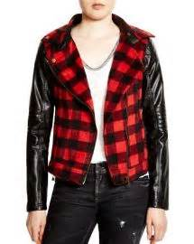 Pusat Rajutan Layla Plaid Reds wornontv layla s plaid moto jacket on nashville peeples clothes and wardrobe from tv
