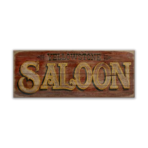 Saloon Signs Images