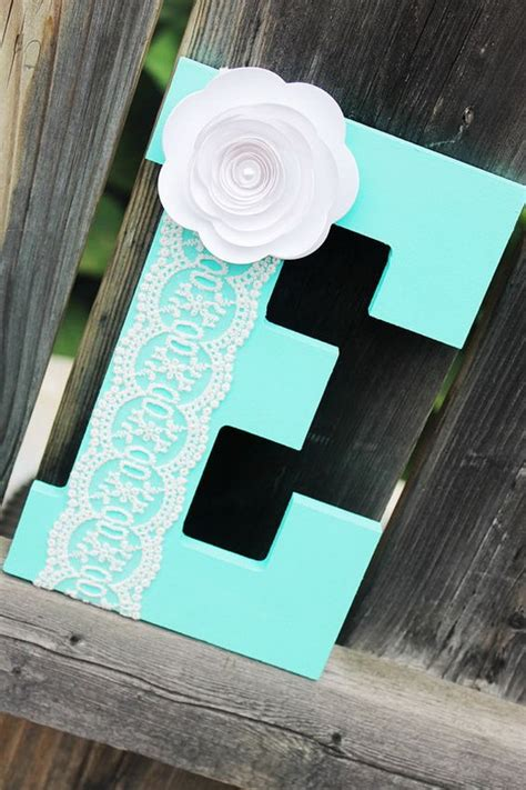 Gift Ideas Letter E 20 Pretty Diy Decorative Letter Ideas Tutorials Listing More