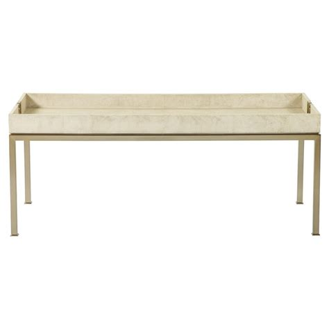 gold coffee table tray oriana ivory faux shagreen tray gold coffee table kathy