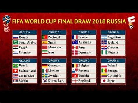 fifa world cup 2018 result official fifa world cup 2018 draw result tickets
