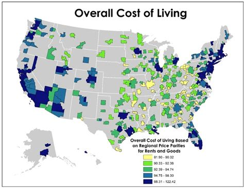 which state has the lowest cost of living cost of living is really all about housing citylab