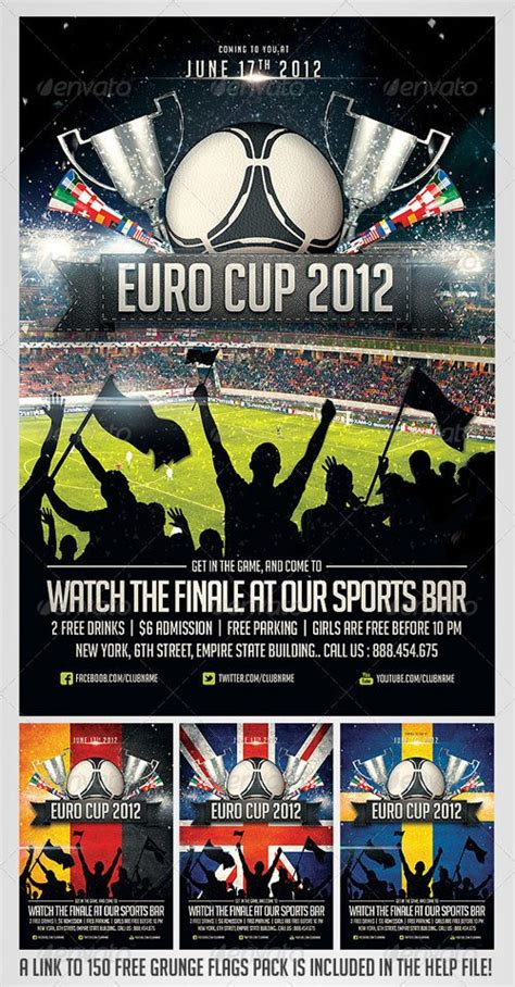 templates for sports posters top 10 best sport psd flyer templates