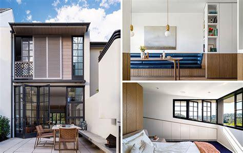 contemporary redesign    house  sydney