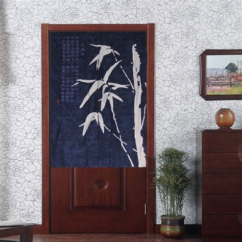 japanese door curtain malaysia japanese noren traditional chinese bamboo batik half door