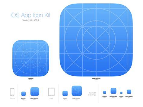 ios app icon kit  medialoot dribbble