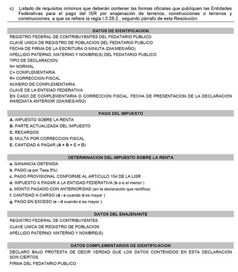 miselania fiscal para la fecha limite de utilidades 2016 dof diario oficial de la federaci 243 n
