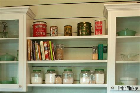 Vintage Kitchen Shelf by Before After Creates A New Vintage Kitchen In