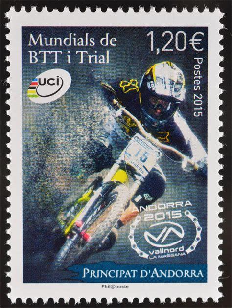 Trial Motorräder 2015 by Andorra Franz 246 Sisch 2015 Michel Nr 793