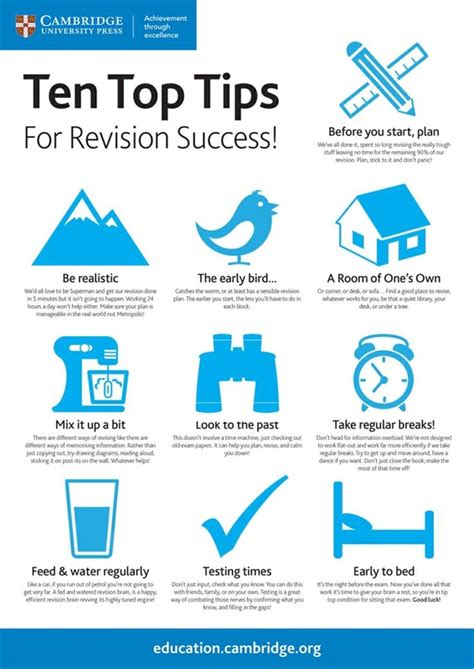 10 Top Tips On Getting Ready For Exams key resources innovative education org