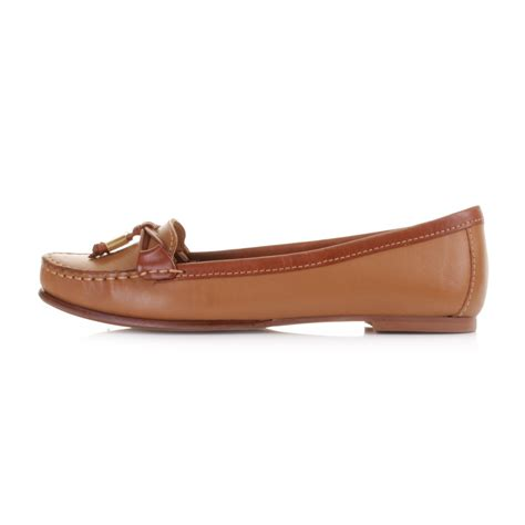 womens leather loafers womens sebago ashby tie leather slip on loafers boat
