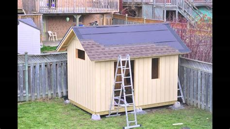 garden sheds in barrie on that backyard place of barrie diy backyard garden shed youtube