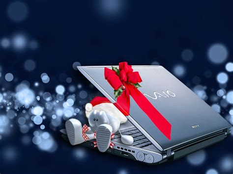 xmas wallpaper for laptop genuine vaio notebook christmas laptop wallpapers cool