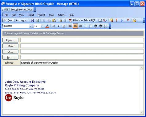 Email Signature Format Slim Image Email Signature Block Templates