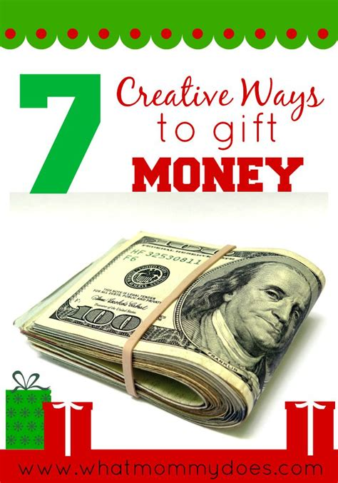 creative ways to give money as a gift 7 creative money gift ideas what does