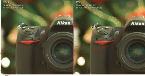 test di casalingo test casalingo new 70 200mm vrii ottiche dx e fx