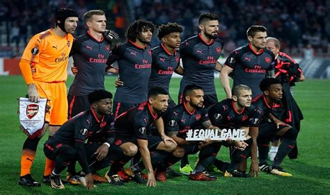arsenal red star arsenal beat red star belgrade in europa league olivier
