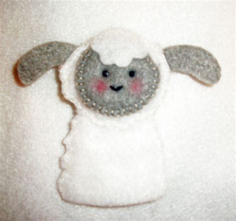 felt lamb pattern felt lamb finger puppet finger puppet pattern from floral