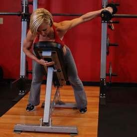 bent over lateral raises on incline bench dumbbell lying one arm rear lateral raise exercise guide
