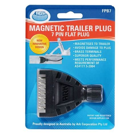 ark 7 pin flat magnetic trailer