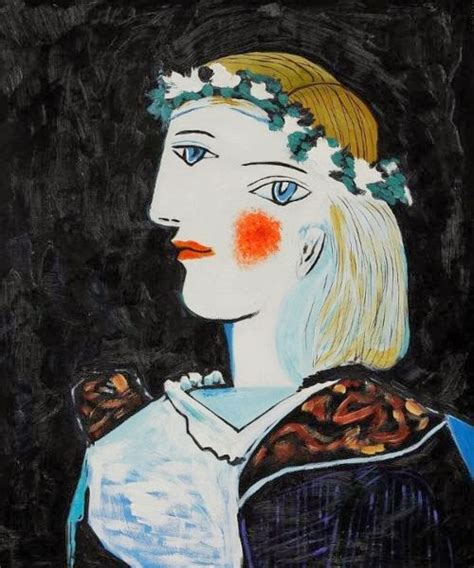 by pablo picasso marie therese walter pablo picasso portrait of marie th 233 r 232 se walter with