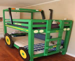 Tractor Bunk Bed Plans Home Decor Amazing Handmade Tractor Bunk Bed