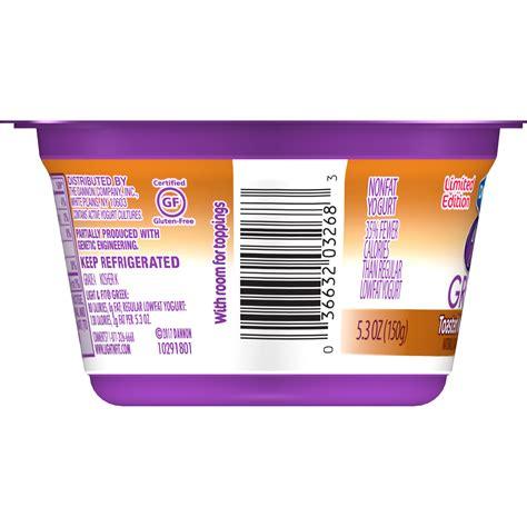 dannon light and fit zero dannon light and fit greek yogurt barcode