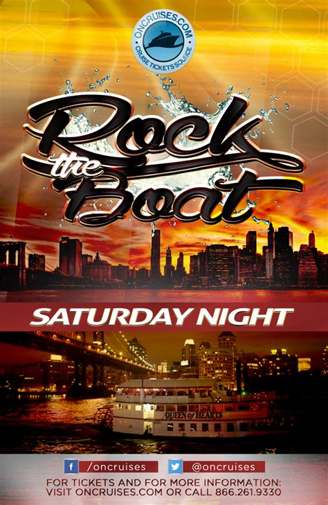rock the boat saturday night party cruise aboard the queen - Rock The Boat Queen Of Hearts