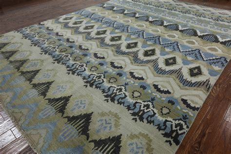 10 X 14 Rug West Elm by Blue Wool Ikat Rug Area Rug Ideas