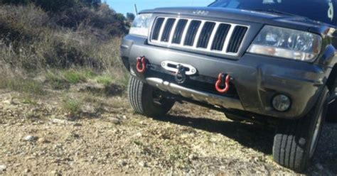 Jeep Wj Winch Wj Winch Mount W Shackle Tabs The O Jays