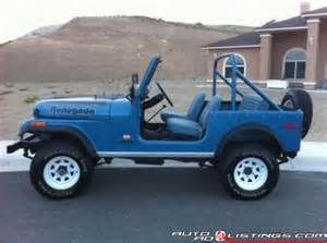 1978 Jeep Renegade Renegade 1978 Jeep Renegade