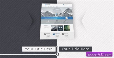 free template after effects presentation videohive website presentation 6969582 after effects