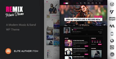 wordpress themes free club remix music band club party event wp theme wordpress