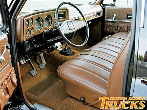 1975 Chevy Truck Interior 301 moved permanently