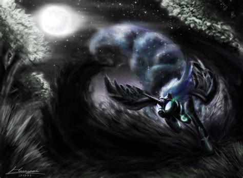 mare in the moon real life nightmare moon by huussii on deviantart