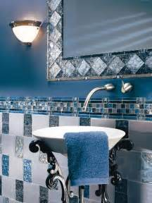 blue bathroom tiles bathroom tile design ideas
